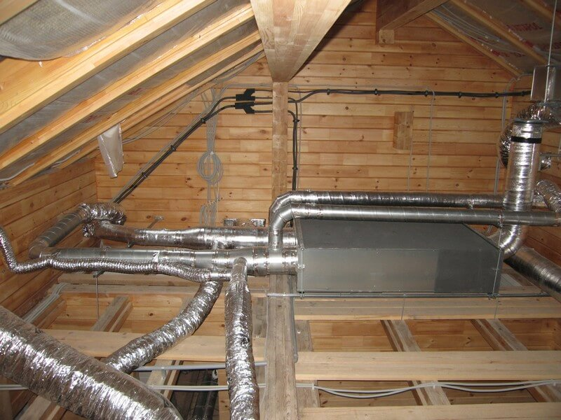 Вентиляция в доме из SIP панелей